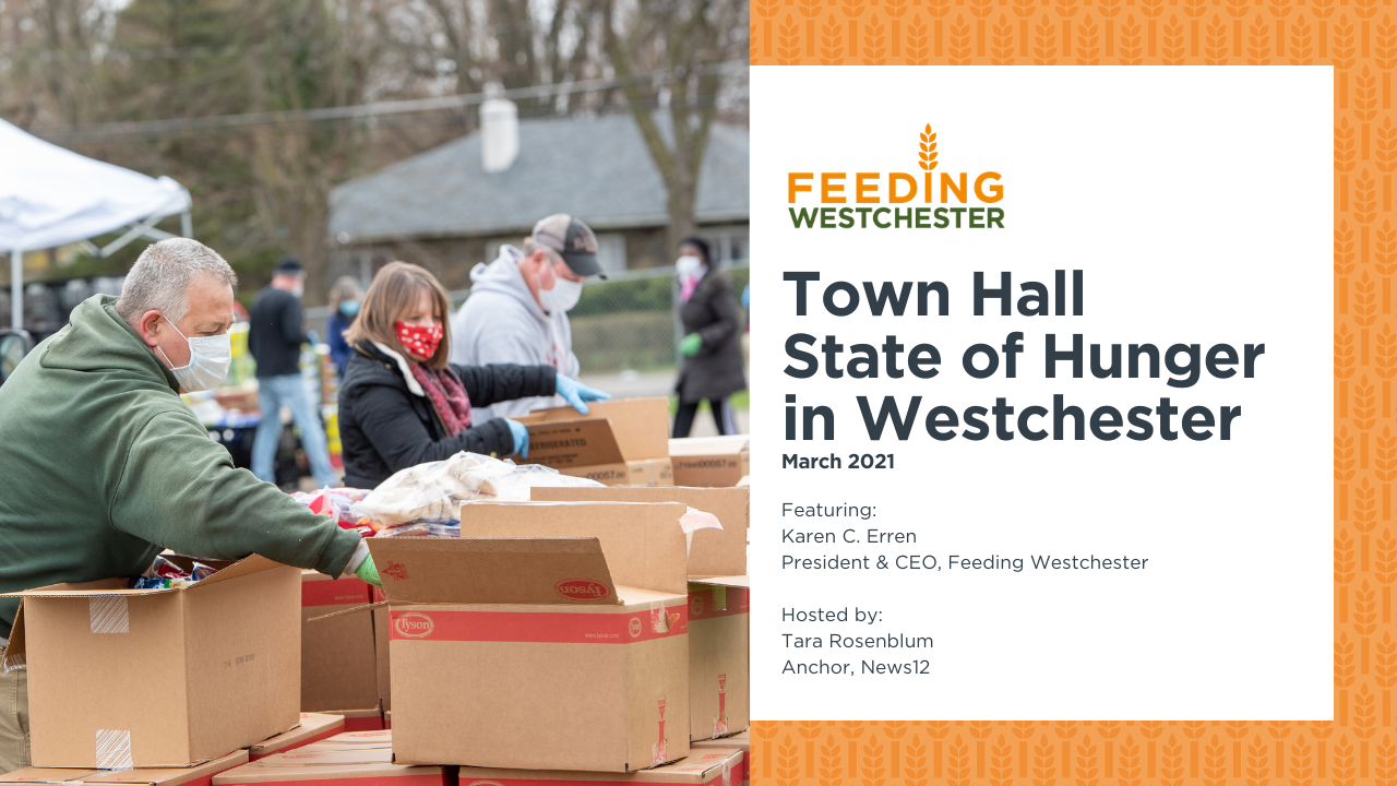 State of Hunger Town Hall
